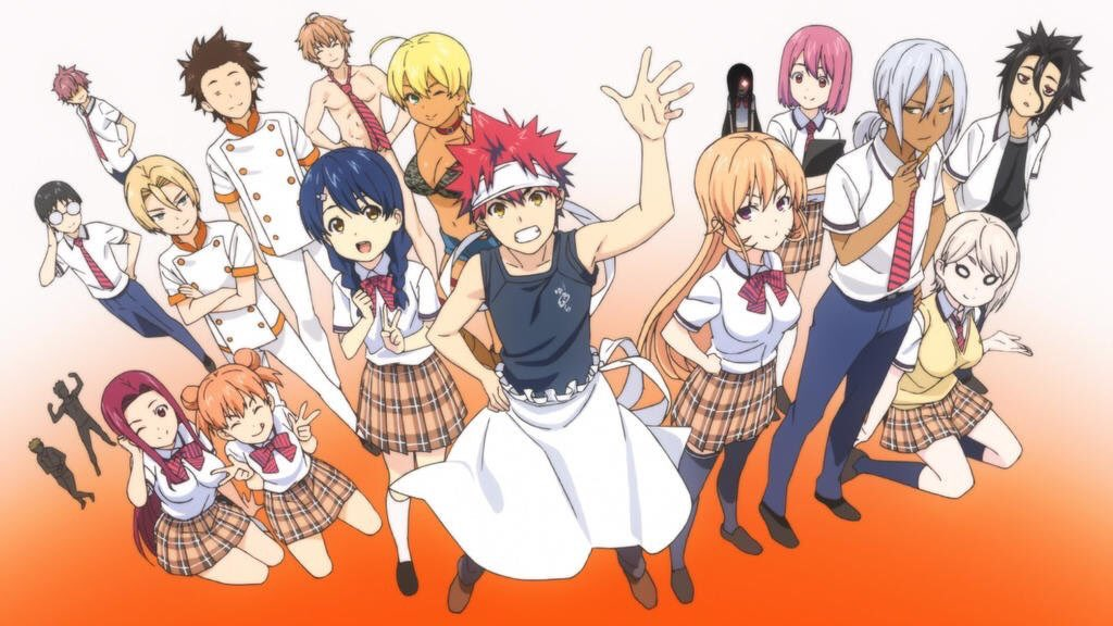 Shokugeki no Soma(Food Wars) Season 4 Announced for October 2019