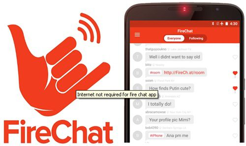 Chat on Your Smartphone without Internet Connection