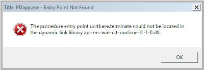 Solusi Error api-ms-win-crt-runtime-l1-1-0.dll Program Windows