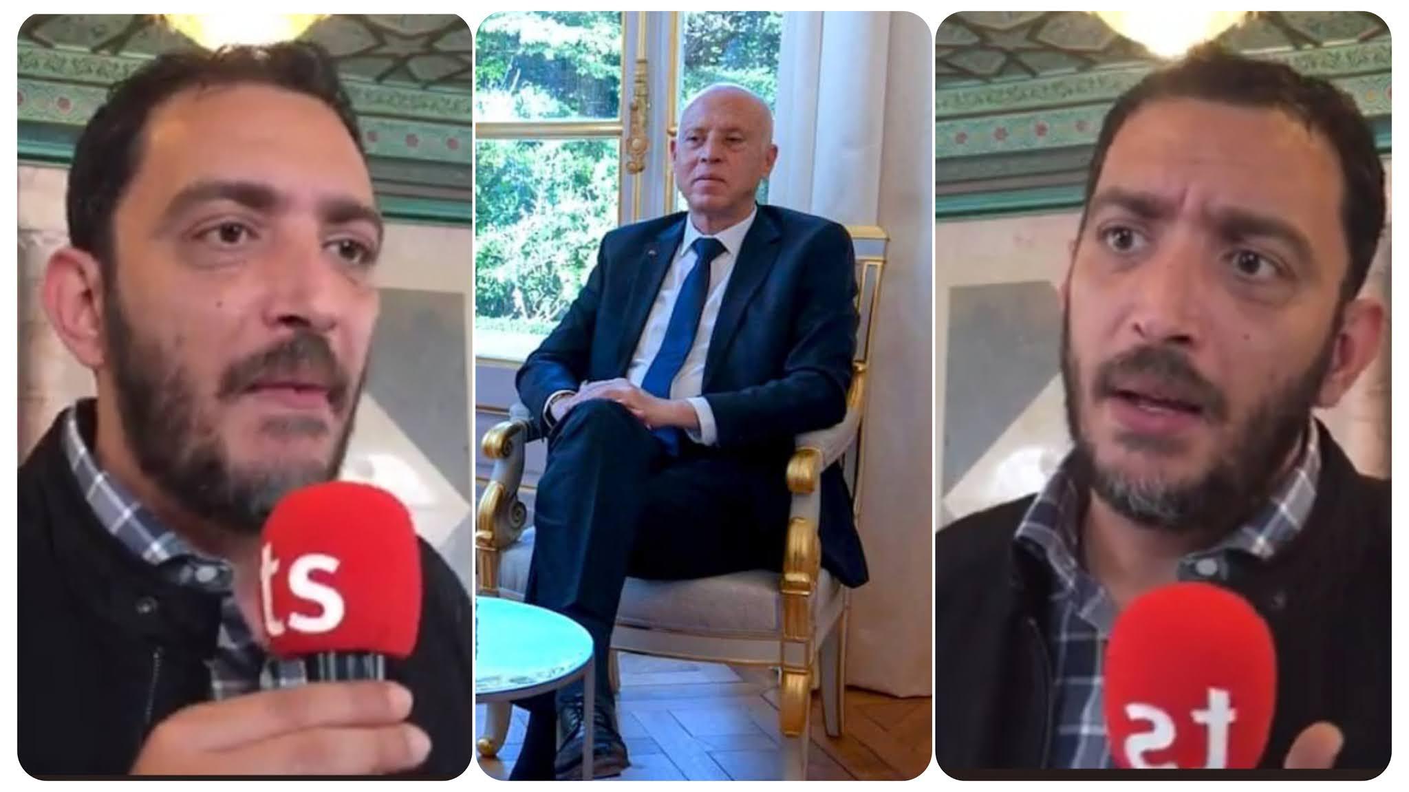 بالفيديو ياسين العياري.. الرئيس كيفهم خبيث يحب يظهر روحو مثقّف وهو  مستك 30 سنة ما خذاش الدكتوراه