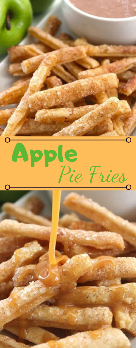APPLE PIE FRIES #dinner #apple #pie #healthyrecipes #easy