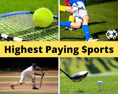 Highest paying sports
