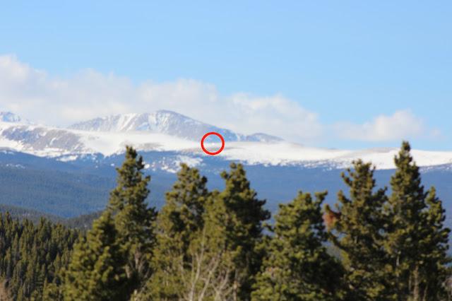 OVNI resplandeciente en las nubes sobre Colorado el 9 de abril de 2021 6