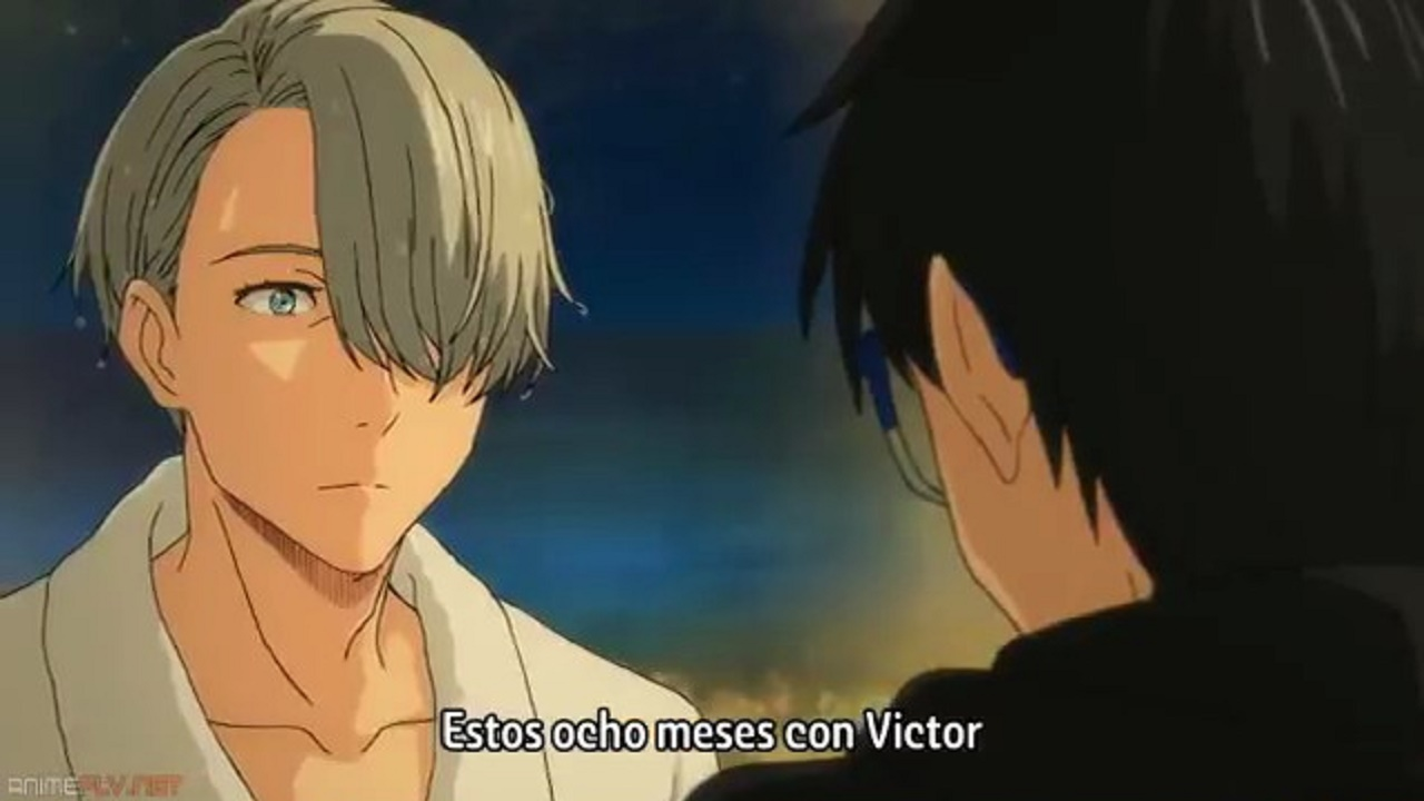 Yuri on Ice cap 12 sub español