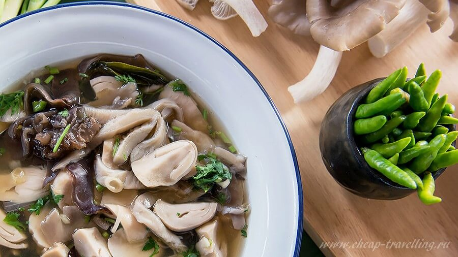Суп из грибов фото