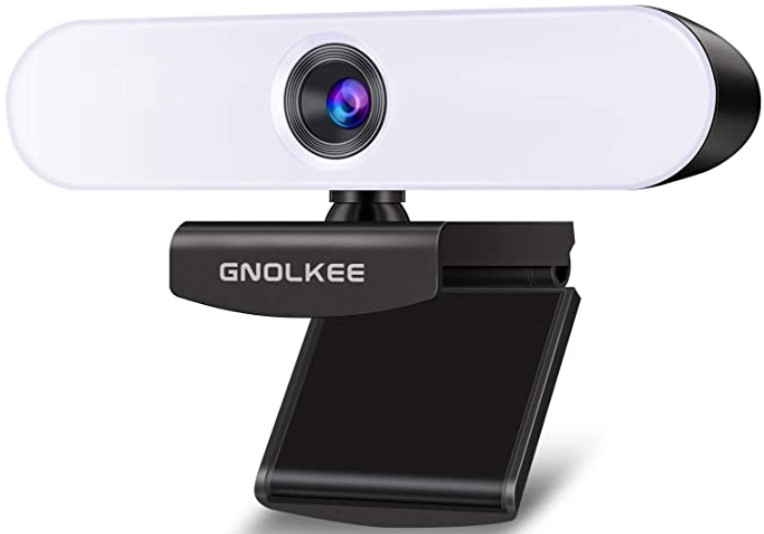 GNOLKEE 1080P Webcam with Microphone