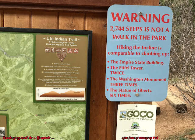 Manitou Incline Hike Steps Count