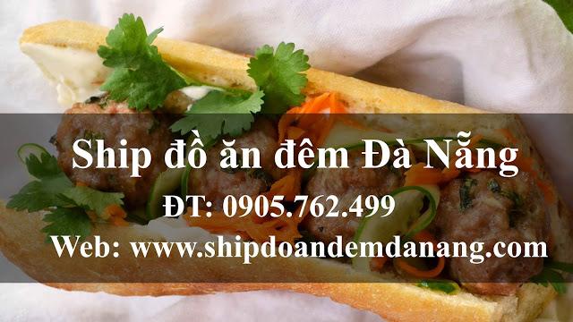 Banh my pate - Ship đồ ăn đêm Đà Nẵng
