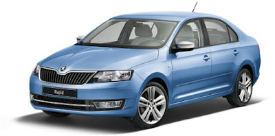 New Skoda Rapid Facelift 2016 Sedan car