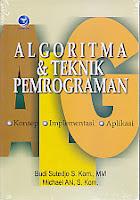 Judul Buku : ALGORITMA & TEKNIK PEMROGRAMAN – Konsep, Implementasi, dan Aplikasi