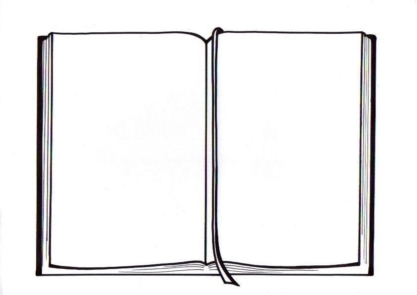 El Rincon De Las Melli Dibujo Biblia Abierta