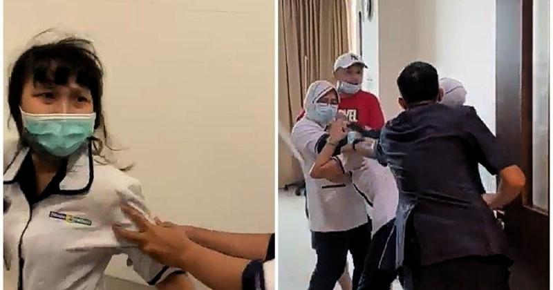 Keterlaluan, Perawat RS Siloam Palembang Dianiaya Keluarga Pasien