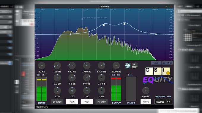 Genuine Soundware  -  EQuity 1.0.1  STANDALONE, VST, VST3, AU WIN.OSX