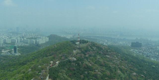 Seoul - Ausblick vom N Seoul Tower