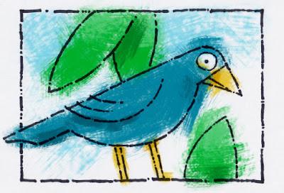 A big-eyed bluebird