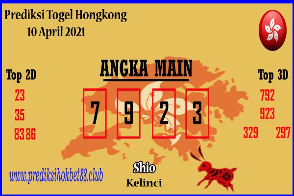 Bocoran Hongkong 10 April 2021