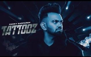 Tattooz Lyrics - Parry Sarpanch Ft. Gurlez Akhtar