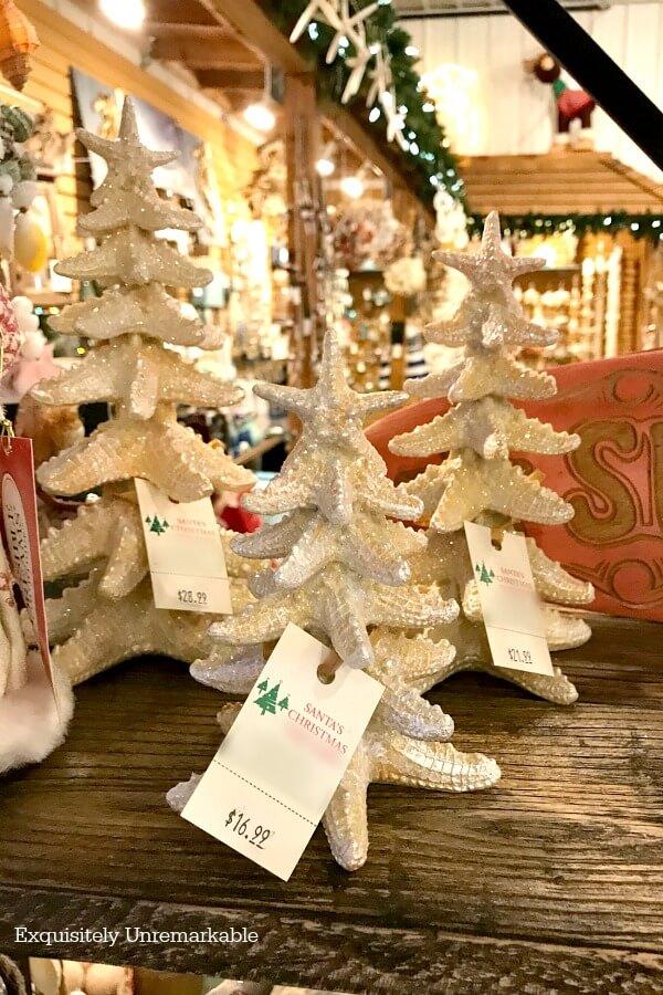 Coastal Christmas Mini Trees