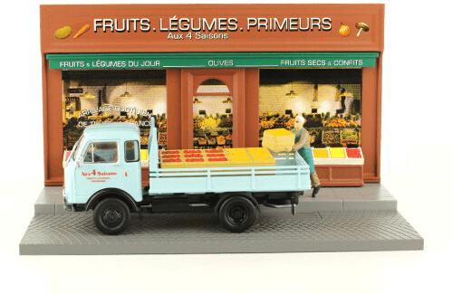 les plus beaux véhicules utilitaires, Unic 20C 1:43 le livreur de fruits et légumes