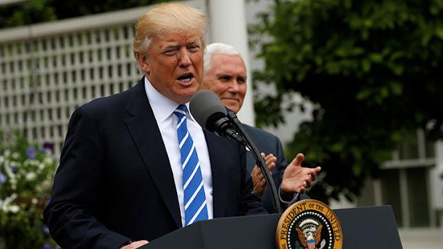 """Trump contempla """"deshacerse"""" de varios grandes bancos y causa una caída en los mercados"""