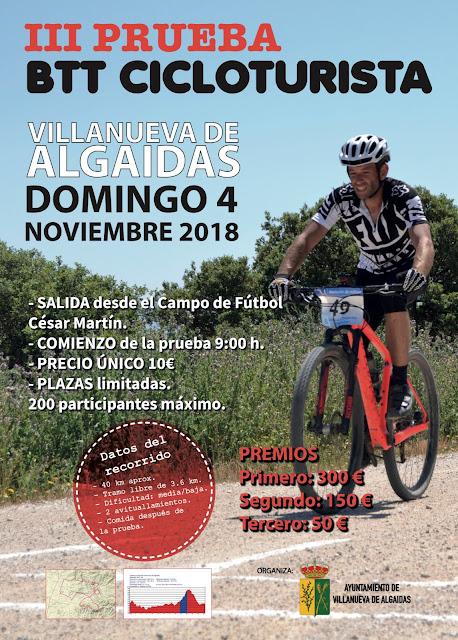 III Prueba BTT Cicloturista de Villanueva de Algaidas