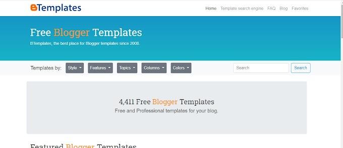 Blogger Template 主題模板資源網站,付費與免費。