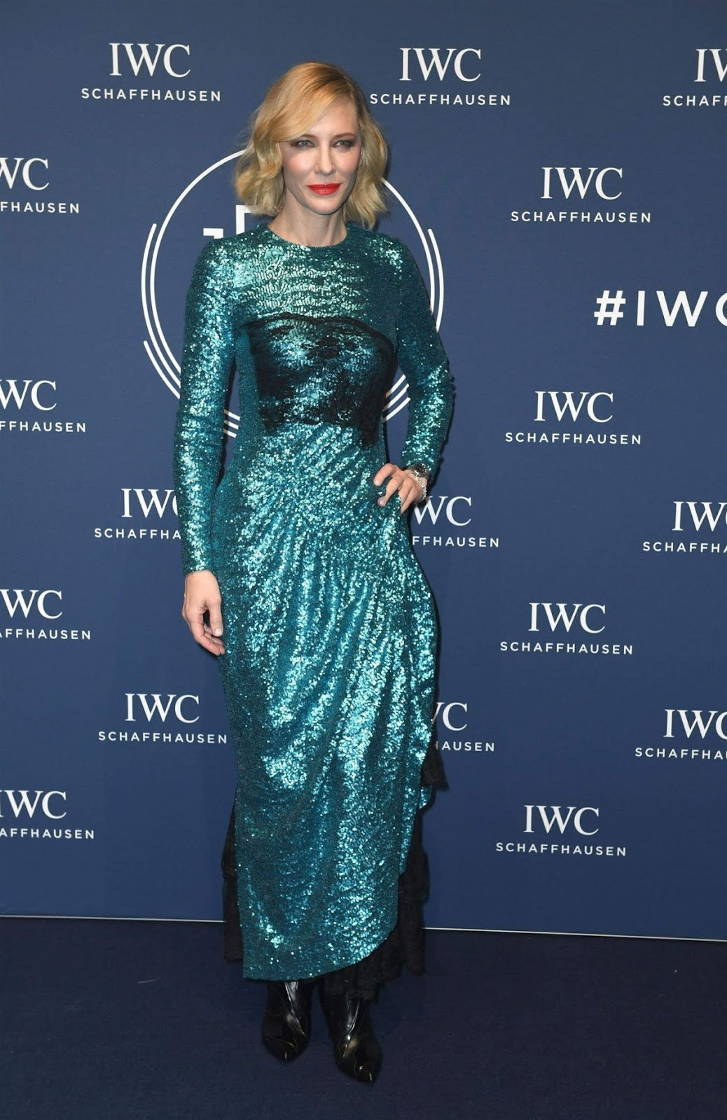 Cate Blanchett At IWC Schaffhausen Gala At Sihh 2018 in Geneva