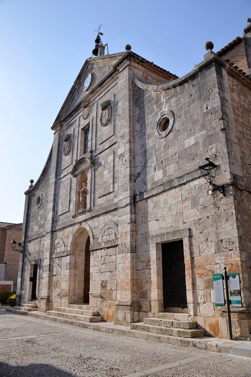 lerma burgos spain castile leon church beautiful village