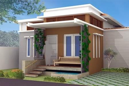 Desain Teras Rumah Minimalis Modern MultiFungsi Hema Biaya Pembangunan & foto rumah minimalis biaya murah