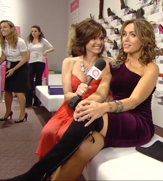 THE APPRECIATION OF BOOTED NEWS WOMEN BLOG : QVC Hostess