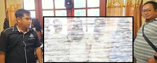 campur gerakan sholat dengan musik disko ditangkap