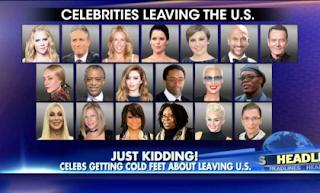 Celebs Leaving U.S?