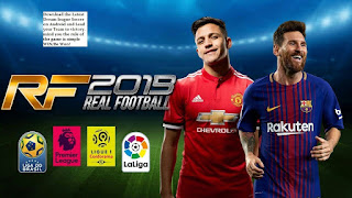 Real Football 2019 (RF 19) Apk + OBB + Data Download On Android