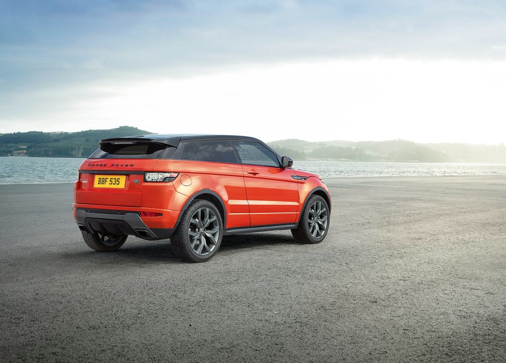 2015 Land Rover Range Rover Evoque Coupe orange