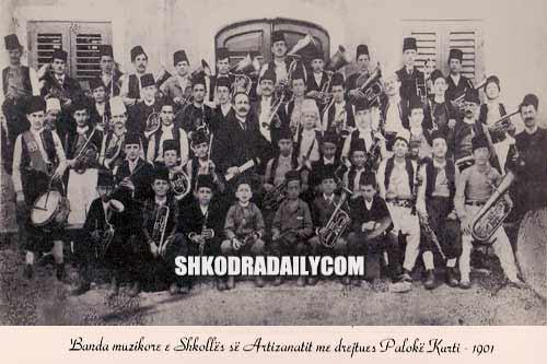 Banda shkolles artizanatit shkoder 1901