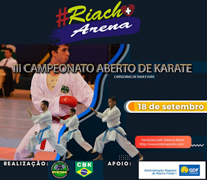 3º Campeonato Aberto Riacho Fundo de Karate