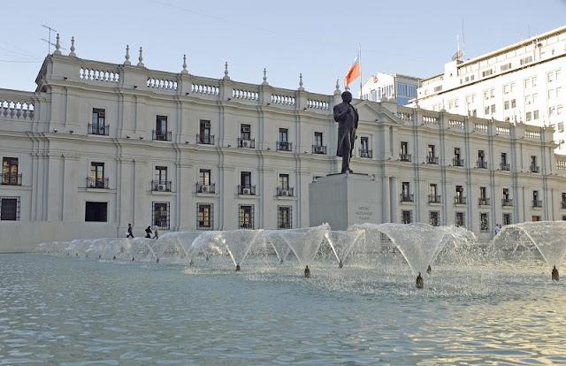 Conhecer o Palácio de La Moneda em Santiago no mês de julho