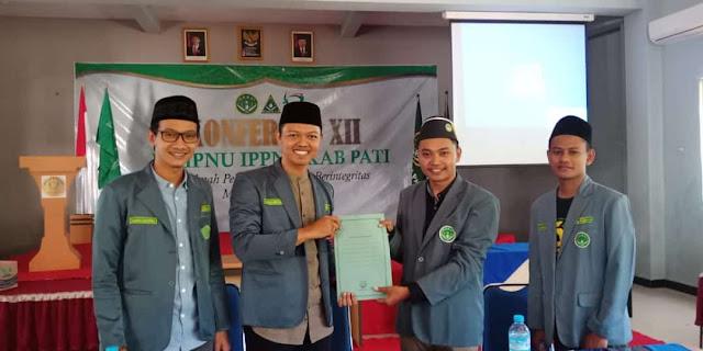 Muhammad Salman Pimpin IPNU Pati 2019-2021