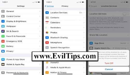 How to Turn OFF GPS on iPhone X