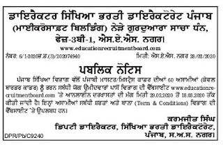 Punjab Education Recruitment Board Master Cadre Science Teachers Jobs.jpgPunjab Education Recruitment Board Master Cadre Punjabi Teachers Jobs.jpg