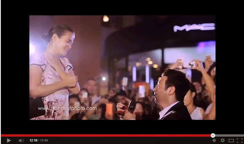 John Prats proposal to Isabel Oli