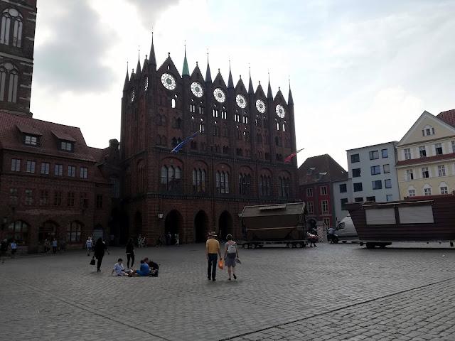 Rynek w Stralsundzie