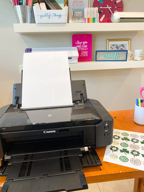 "15"" Silhouette CAMEO 4 Plus, 15"" Silhouette CAMEO Plus, Print and Cut, Sticker Paper, Wide Format Printer"