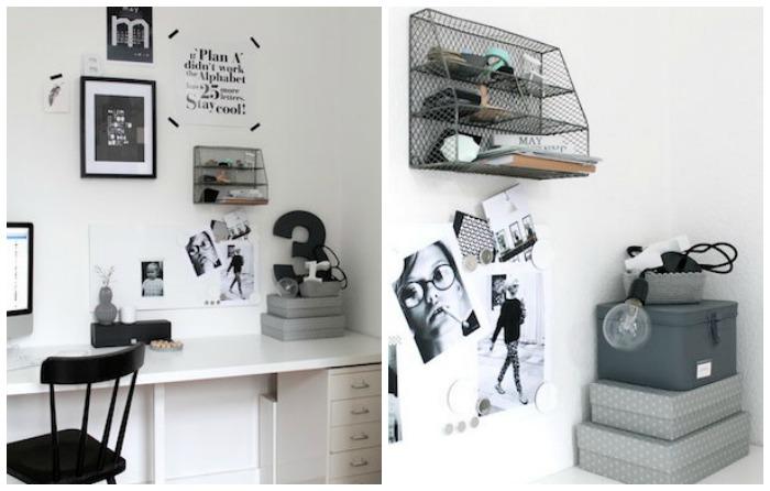 despacho de ikea con muebles de diseño