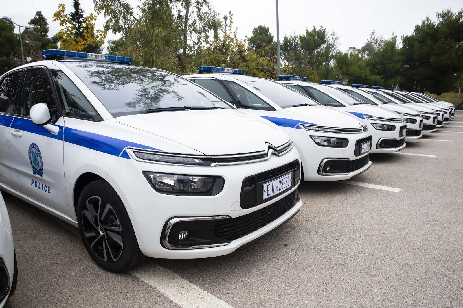 (49) νέα υπηρεσιακά οχήματα παρέλαβε σήμερα η Ελληνική Αστυνομία