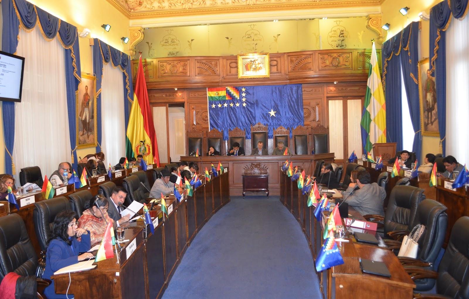 Durante dos gestiones, el MAS presidió y aplicó sus dos tercios en la Cámara Alta / SENADO ARCHIVO