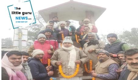 भाजपा नेता हरिओम जी के नेतृत्व में मनाई गई जननायक कर्पूरी ठाकुर जयंती