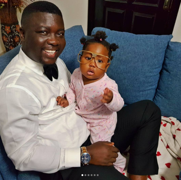 (Photos) Seyi Law: The work ends when I get home - as he plays with his daughter