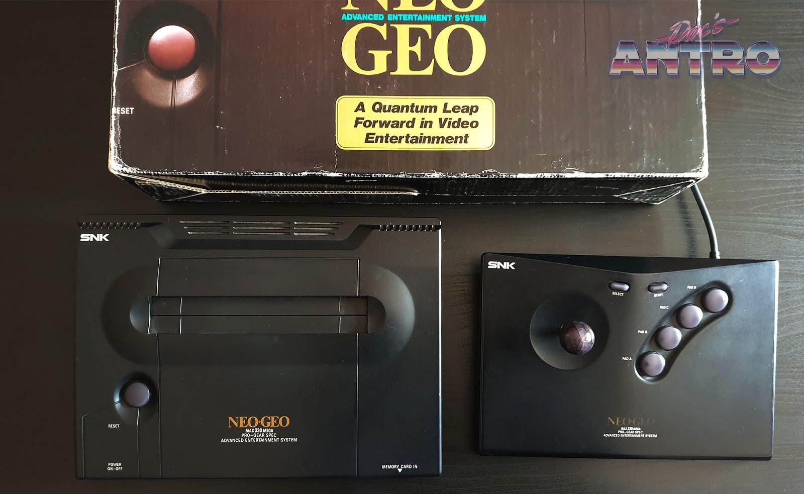 Neo Geo SNK storia console anni 90 Antro