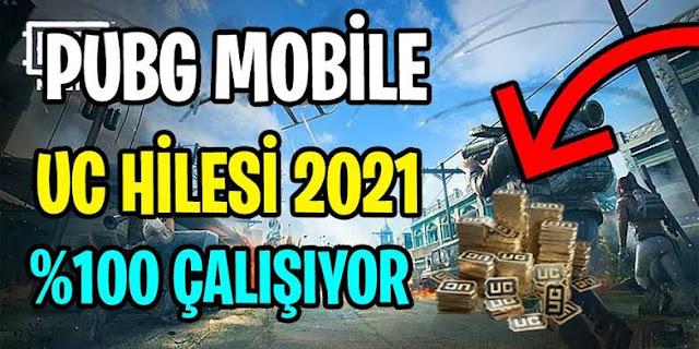 PUBG Mobile UC Hilesi Ücretsiz Sınırsız Kaçırma [2021]!